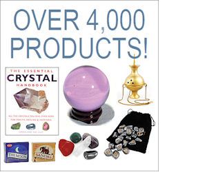 Over 4000 New Age and Metaphysical Products